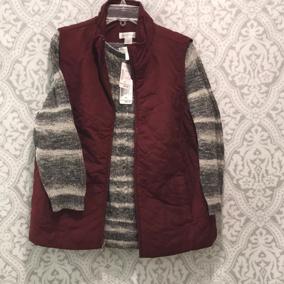 Christopher & Banks Sweaters - Sweater and vest combo! New with tag!